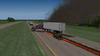 truck fire accident